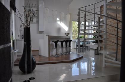 Ferienhaus mit Kamin und Lounge Bar