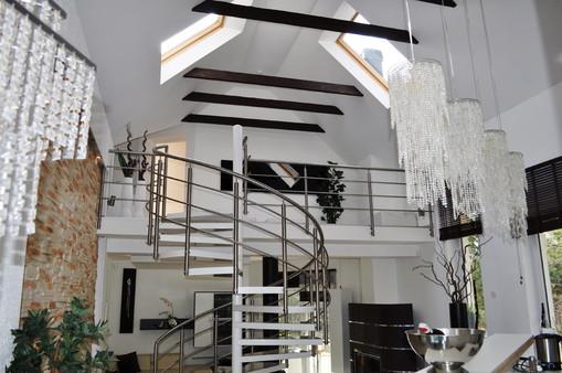 Luxus Ferienhaus Am See In Polen Galerie   Kamin Luxus