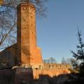 Schlossturm Czluchow Kaschubei Polen