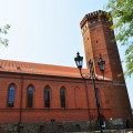 Schlossturm Czluchow Kaschubei